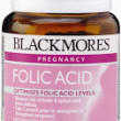 Blackmores Folic Acid