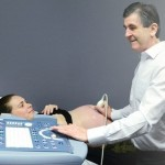 Dr Gary Sykes Performing an Ultrasound