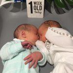 Newborn IVF Twins