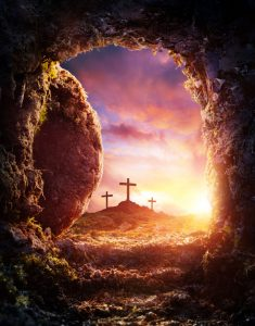 Happy Easter - Empty Tomb