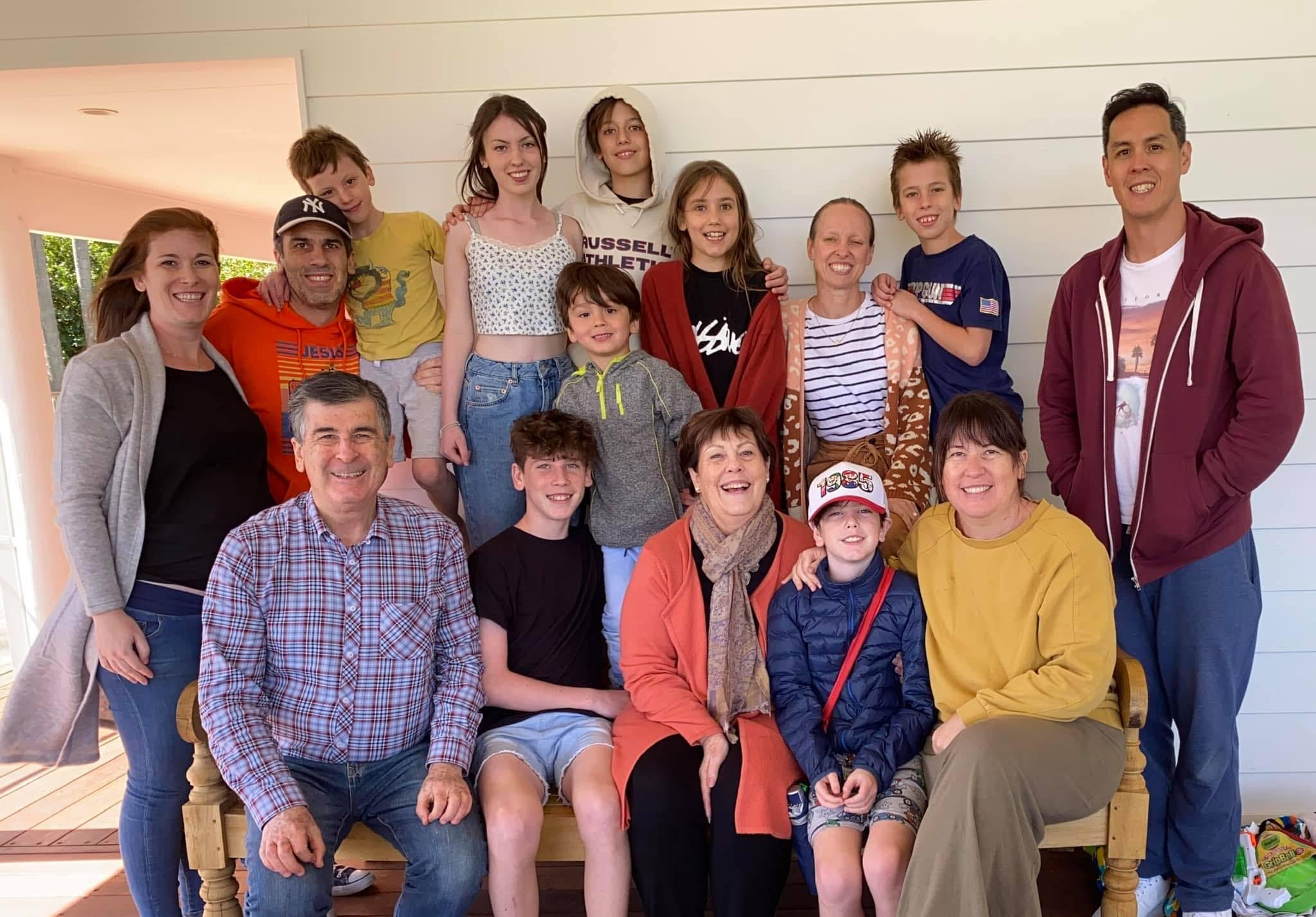 Dr Sykes Family Photo